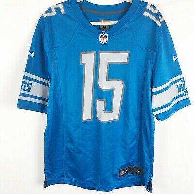 0c0bd196 NIKE GOLDEN TATE III Detroit Lions Jersey NFL On Field Authentic Size M