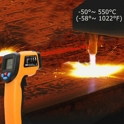 GM550 LCD Digital Infrared Thermometer Pyrometer Aquarium Laser Thermometer