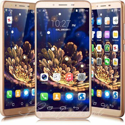 "USA 5.5"" Unlocked 3G GSM Android 8.0 Net10 AT&T Smartphone DuaL SIM Cell Phone"