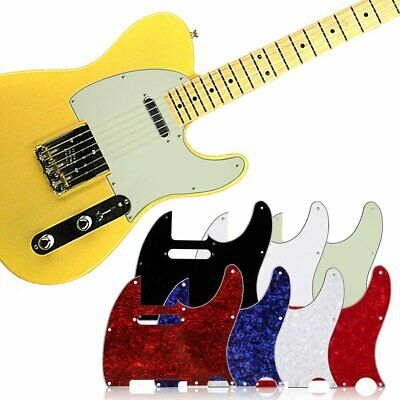 US 3 Ply Tele Style Guitar Pick Guard Scratch Plate Fits Telecaster Guitar New