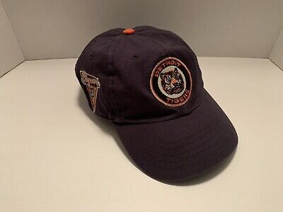 914aabe23 '47 Detroit Tigers Navy 1964 Logo Cooperstown Collection Clean Up  Adjustable Hat. '