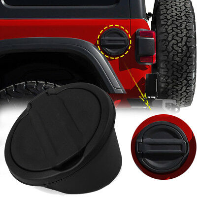 Fuel Filler Door Gas Tank Cap Lid Cover for Jeep Wrangler JL 2018 R3D8