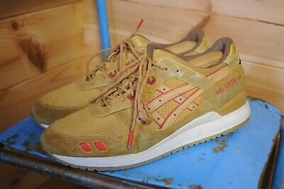 separation shoes 0baba dfe07 MEN'S ASICS GEL Lyte III H427L Honey Mustard US 11 UK 10 Fits like UK 9