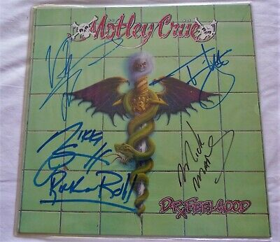 Feelgood Signed Autographed A4 Poster Photo Memorabilia ticket Motley Crue Dr