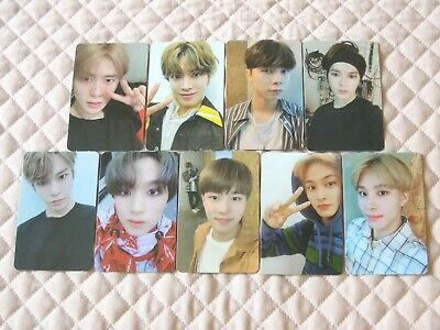 NCT127 4th Mini Album NCT #127 WE ARE SUPERHUMAN Photocard KPOP