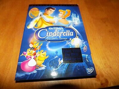 WALT DISNEY'S CINDERELLA PLATINUM EDITION  Disney Animated Classic 2DISC DVD SET