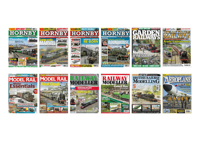 MAGAZINE COLLECTION - Hornby, Model Rail, Railway Modeller and more back issues