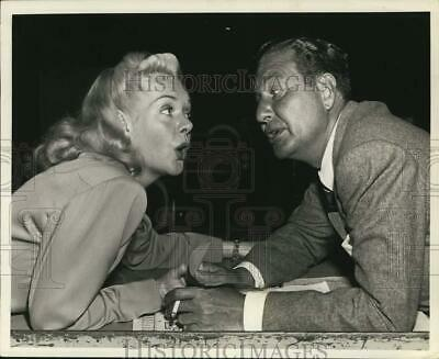 Press Photo Actors Phil Harris and Alice Faye. - hcp45573