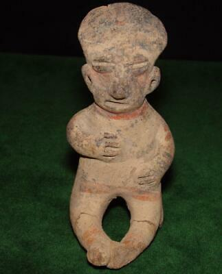 Pre-columbian Chinesco - Nayarit Figure from West Mexico,  100 B.C.-450 A.D