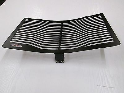 Honda ST1300 Pan European (02-) Stainless Steel Black Radiator Grill Guard