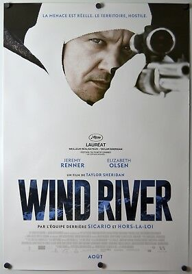 Wind River - original movie poster - 27x40 FR Canadian - rare style