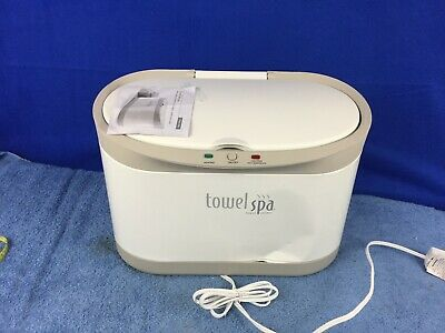 Towel Spa Towel Warmer 50001R  (OUTER CASE DAMAGED BUT WORKS FINE)