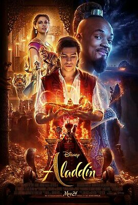 "Aladdin Movie Poster 2019 Will Smith 24"" x 36"" 2 for $23"