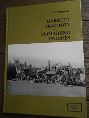 1st ed Garrett Steam traction ploughing history tractor engines motor steam