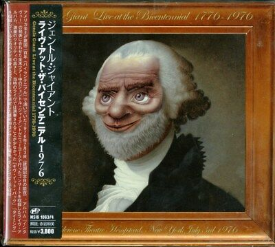 Gentle Giant-Live At The Bicentennial 1976-Japan 2 Cd I98