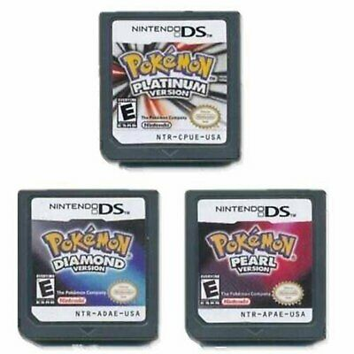 POKEMON Platinum Pearl Game Card Compatible for 3DS DSI NDS NDSL LITE