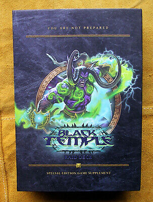Wow Black Temple Raid Deck  World Of Warcraft. Unopened. Sealed Cards.