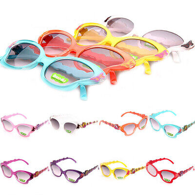Baby Kids Children Frame Sunglasses UV400 Butterfly Shades Toddler Girls Outdoor