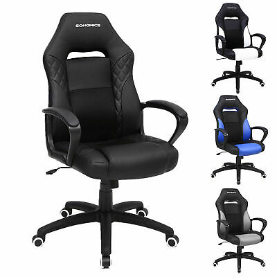 Home Office Chair Gaming Chair With Tilt Mechanism Racing Chair 150kg Adjustable