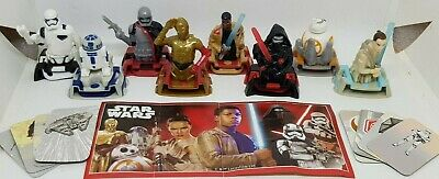 Kinder 2019, Star Wars, Brasil, with Variants, compl. set with all Bpz