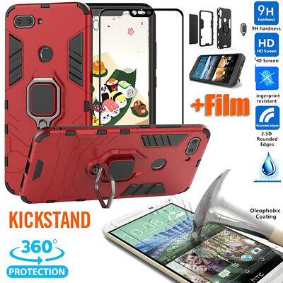 Heavy Duty Shockproof Case Tempered Glass For Xiaomi 5X 6X F1 Redmi 7 6A 6 Pro