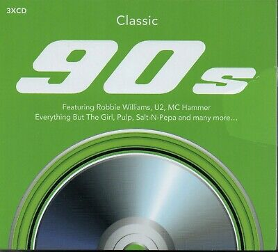 CLASSIC 90s - Various Artists - 3xCD Album *NEW & SEALED*