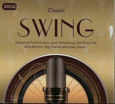 CLASSIC SWING - Various Artists - 3xCD Album *NEW & SEALED*