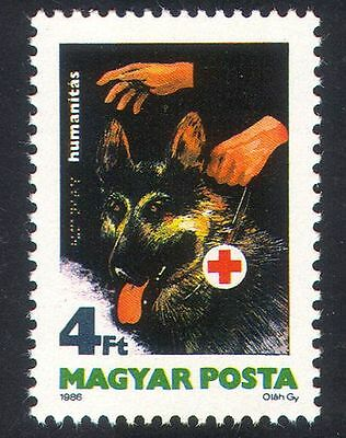 Hungary 1986 Dogs/Blind/Health/Welfare/Disabled/Braille/Animals 1v (n39391)