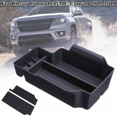 LAIKOU for Chevy Colorado and GMC Canyon 2015 2016 2017 2018 2019 2020 Custom Liner Accessories and Door Pocket Inserts 26-pc Set Console Premium Cup Holder Blue Trim