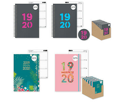 2019/20 Student Diary A5 Week to View Academic Diary School Timetable Planner