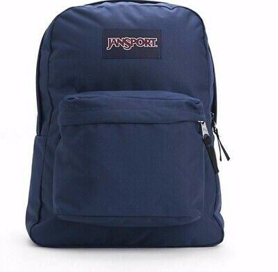 615a7769dd4c04 NEW JanSport Superbreak Navy Blue Backpacks - 100% Authentic New with Tags