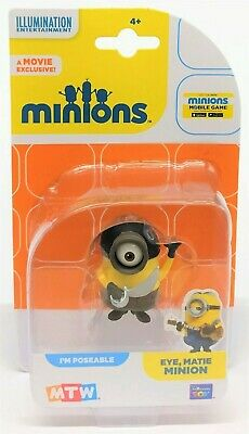 Despicable Me Minions Eye Matie Minion Collectible Mini Poseable Figure Toy