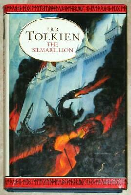 -ô¿ô- THE SILMARILLION ~ JRR Tolkien -ô¿ô- BRITISH ED ~ BOOK CLUB EDITION  ~ HC