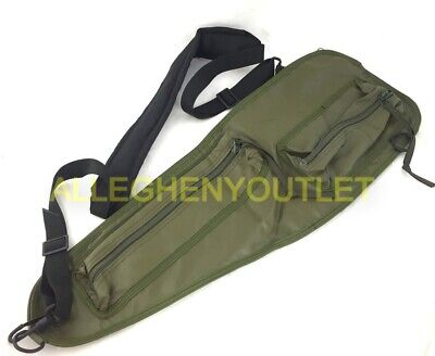 US Military Army Spare Barrel Carrying Case w/ Strap 19205-7791009 OD Green VGC