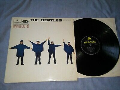 THE BEATLES< help >1965- FIRST UK STEREO  PRESS -PARLOPHONE --EX++