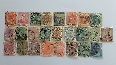 25 Different British Empire/Commonwealth Queen Victoria issues only Collection