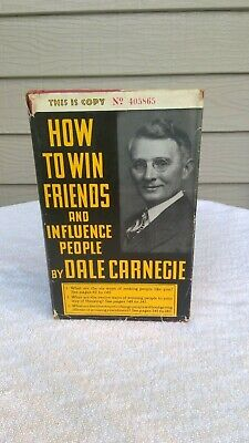 How To Win Friends And Influence People Early 1937 Edition Dale Carnegie Nice