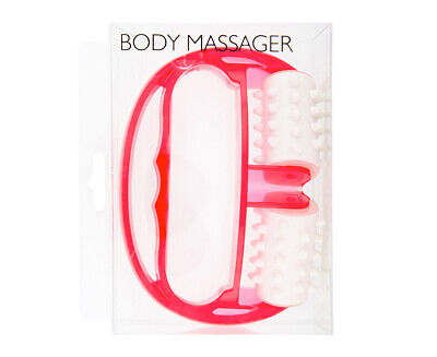 Body Massager - Hot Pink/White