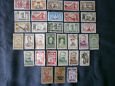 Lot 32 Timbre Indochine  Stamp Colonie Francaise  Hochi-Minh
