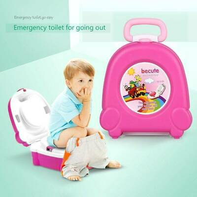 New Kids Baby Toddler Portable Travel Potty Toilet Training Seat Chair Trainer