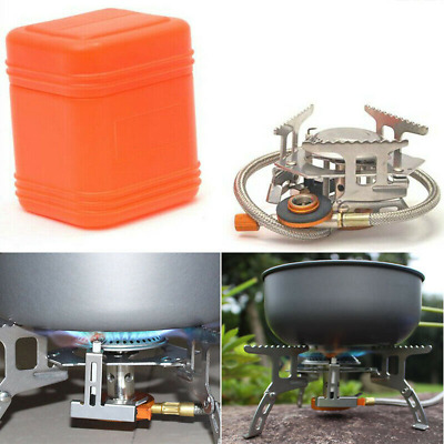 Folding Portable Gas-Burner Fishing Outdoor Cooking Camping Picnic Cook Stove UK