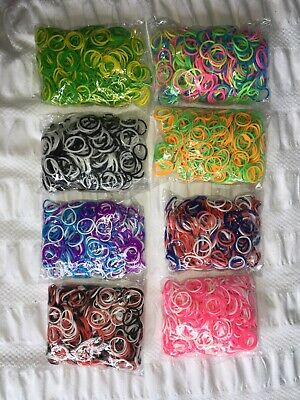 8 Bags Of Loom Bands
