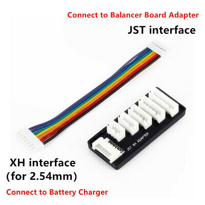 JST XH 2-6S Balance Board Charger Expansion Adapter for RC LiPo Battery Charging