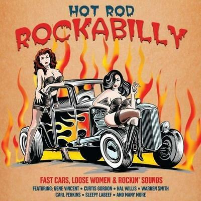 Hot Rod Rockabilly 2-CD NEW SEALED Gene Vincent/Vince Taylor/Sleepy LaBeef+