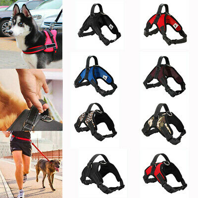 Pet Power Harness Stong Adjustable & Reflective Dog Puppy Harnesses Free le UK