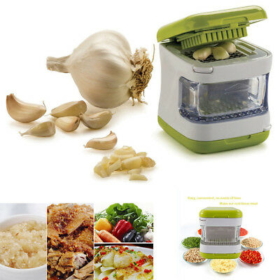 Chopper Press Cutter Grind Food Mince Onion Garlic Slicer Peeler Dicer Mincer L7