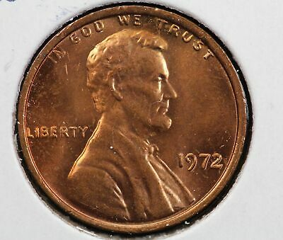1972 Double Die Lincoln Memorial Cent Cherrypickers FS-108 9HN9