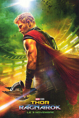 Thor Ragnarok - original DS movie poster - D/S 27x40 Advance FR