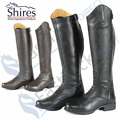 Shires Moretta Gianna Pro Field & Riding Boots | Black OR Brown | Leather Calves