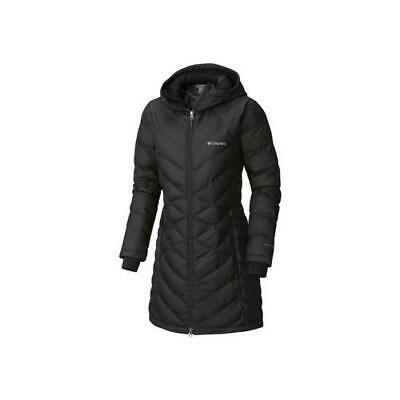 88324752456 New Other Columbia Women's Heavenly Long Hooded Jacket Extra Small Black